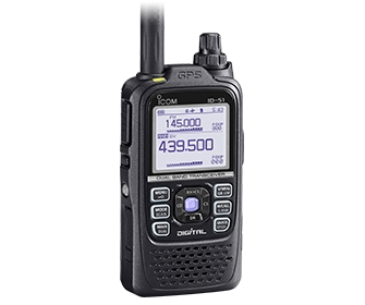 ID-51E PLUS VHF/UHF Dual Band DIGITAL Transceiver